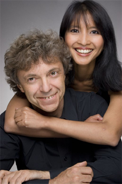 Ami and Pascal Rogé, piano